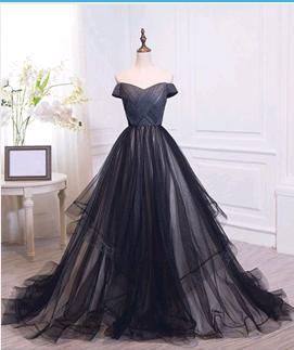 Charming Off The Shoulder Prom Dresses,Long Prom Dresses,Cheap Prom Dresses,