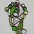 Small Scrappy Suncatcher - Spring Green