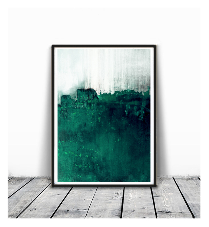Wall Decor, Fine Art Print, Colorful Artwork, Green Print, Gifts For Her, Bright