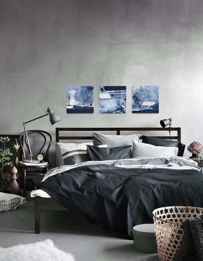 Home decor, 10x 10 painting,romantic wall art,art set of 3,Landscape