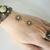 Chrysoprase Hand Chain Slave Bracelet