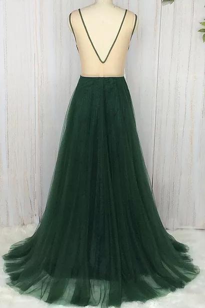 V-Neck Elegant 2018 Prom Dresses,Prom Dresses,Formal Women Dress,prom dress F79