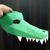 DIY Papercrafts Alligator mask,Crocodile mask,Alligator head,Crocodile