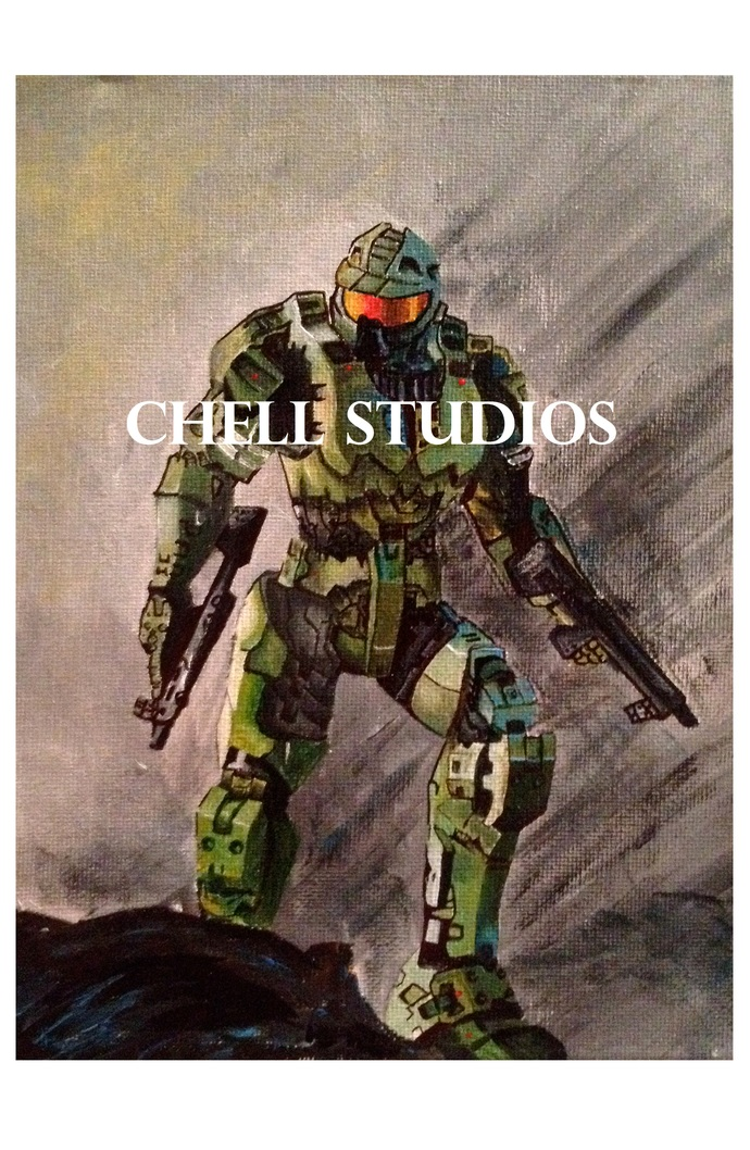 PRINT MASTER CHIEF FROM HALO