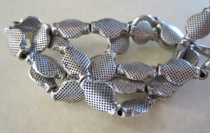 Antique Silver Metal Accent Beads