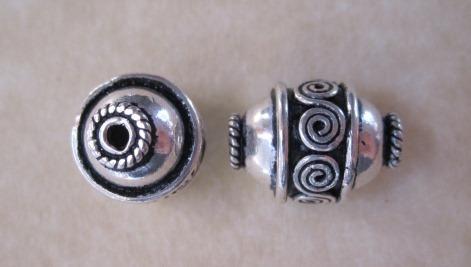 Bali Silver Bead