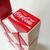 Coca Cola Rubik's Twist Snake Puzzle Toy (Red / White) - Coke