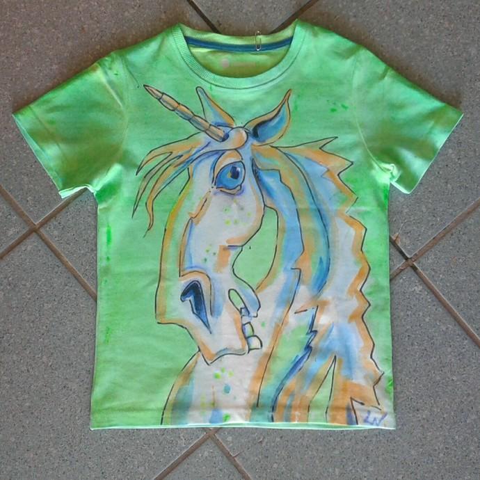 Green Unicorn Tshirt
