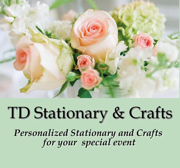 Classic Peony Personalized Wedding / Invite Set / Set of 25