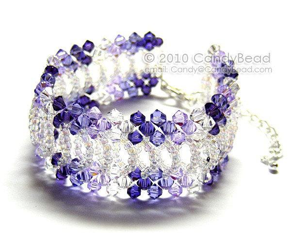 Swarovski Bracelet; Crystal Bracelet; Glass Bracelet; Splendid Swarovski Crystal