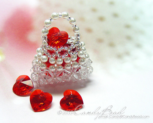 Crystal Necklace; Swarovski Necklace; Glass; Crystal Pendant Necklace - Mini