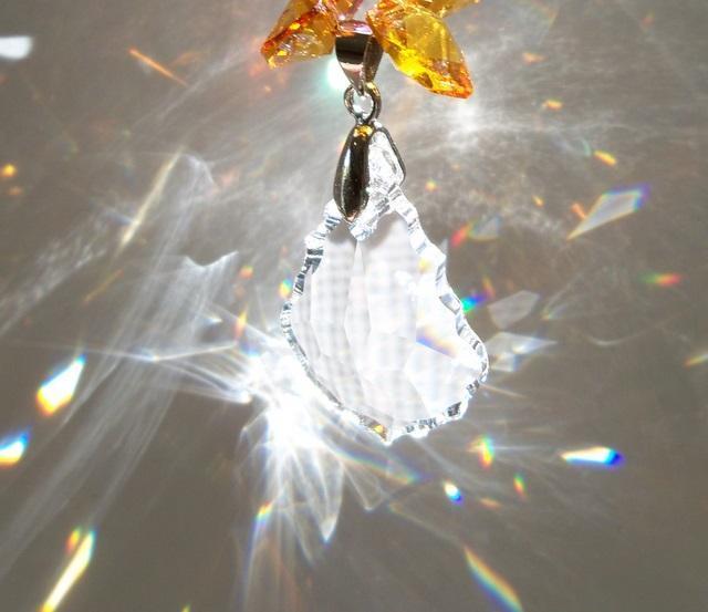 Sun Catcher - November Birthstone Angel