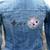 SNES Controller inspired Women's denim jacket (J. Crew X-Small)