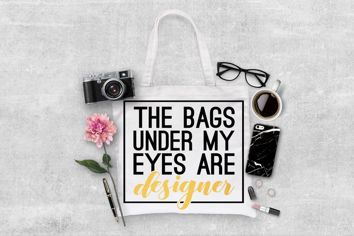 Custom Tote Bags, Cotton totes, Mom gifts, diaper totes