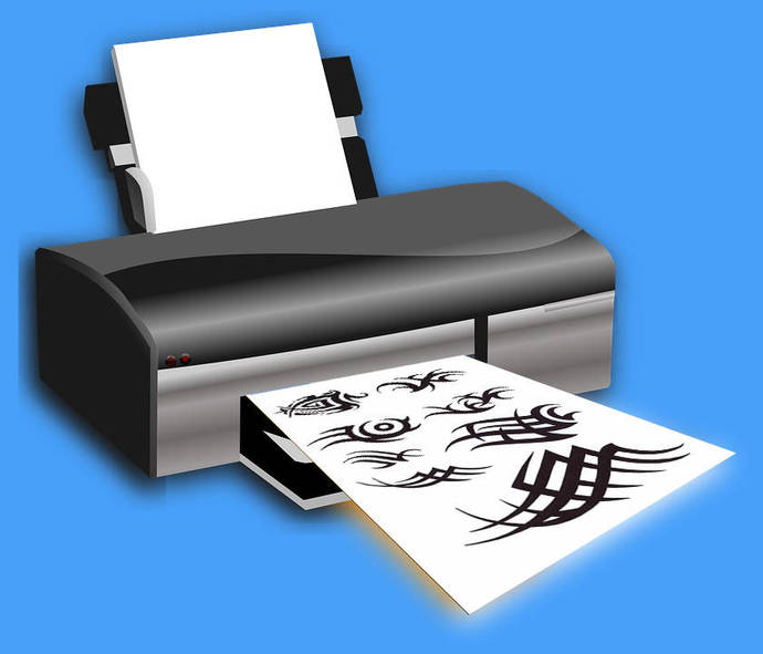 Fake Tattoo Paper - create your own temp by Temporary Tattoos on