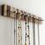 Jewelry Rack in Striped Wood
