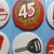 Tomica 45th Anniversary Metal Badge Button Pin Set Of 6 - Limited Edition - Tomy