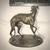Antique Bronze Whippet or Italian Greyhound Figurine