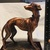 Vintage Whippet, Greyhound or Italian Greyhound Figurine