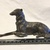 Antique Metal Hound Figurine