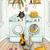 Cats In The Laundry Room Folk Art Print 8x10, 11x14
