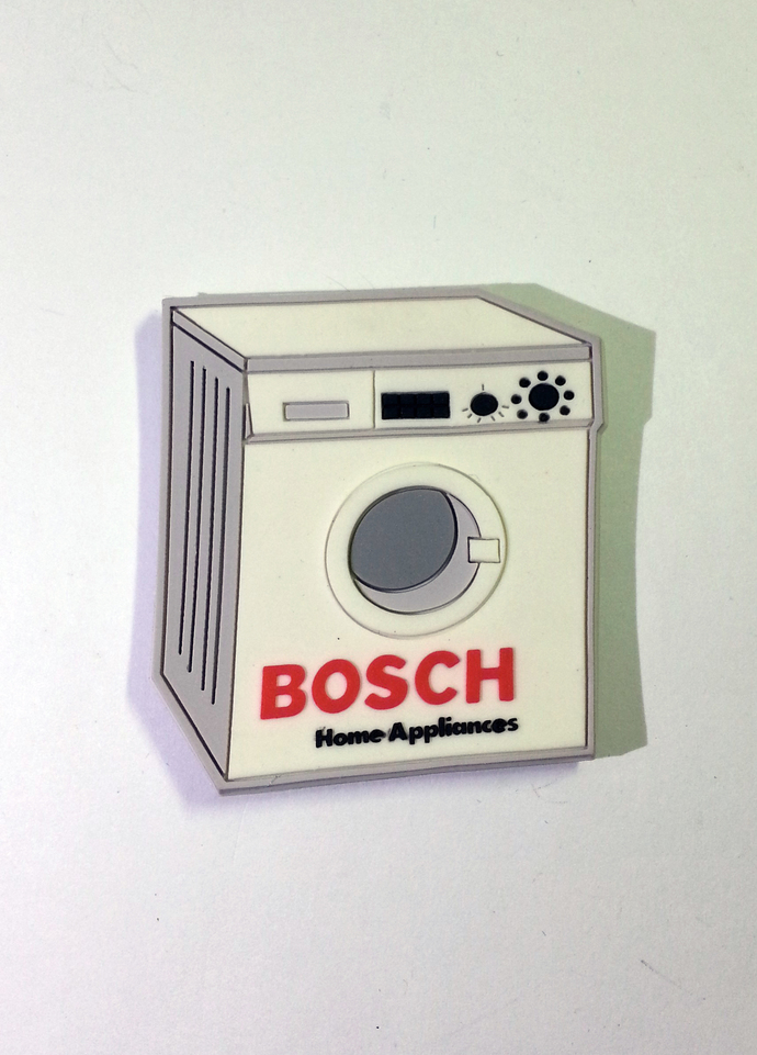 Rare BOSCH Refrigerator Fridge Magnet - BOSCH Home Appliances