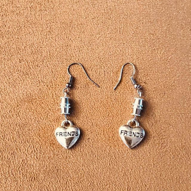 Heart Shape - Friendship Earrings