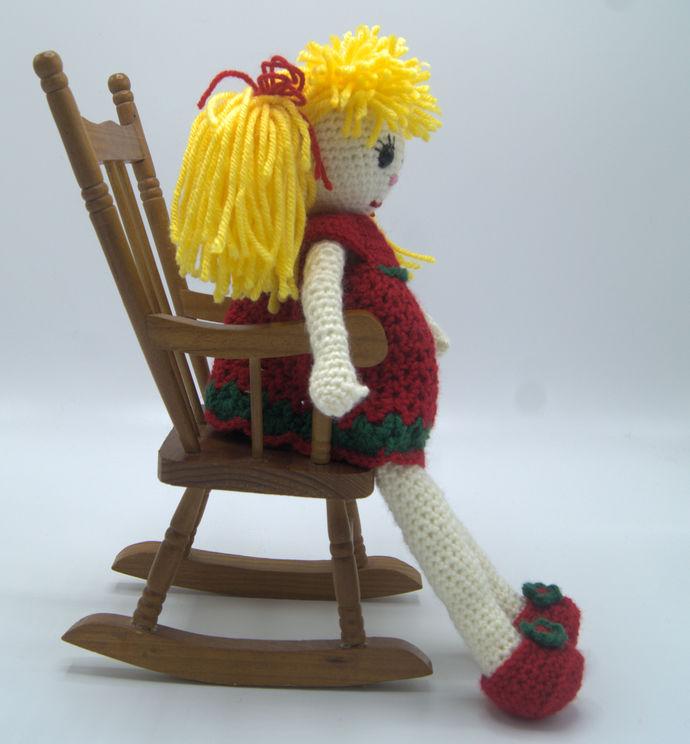 Crochet Doll/Amigurumi/Soft Yarn Doll/Toy