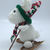 Mini Snowshoe  Rabbit Amigurumi/Crochet/Animal