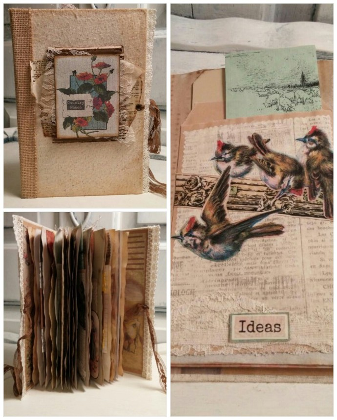 Country Peace junk journal