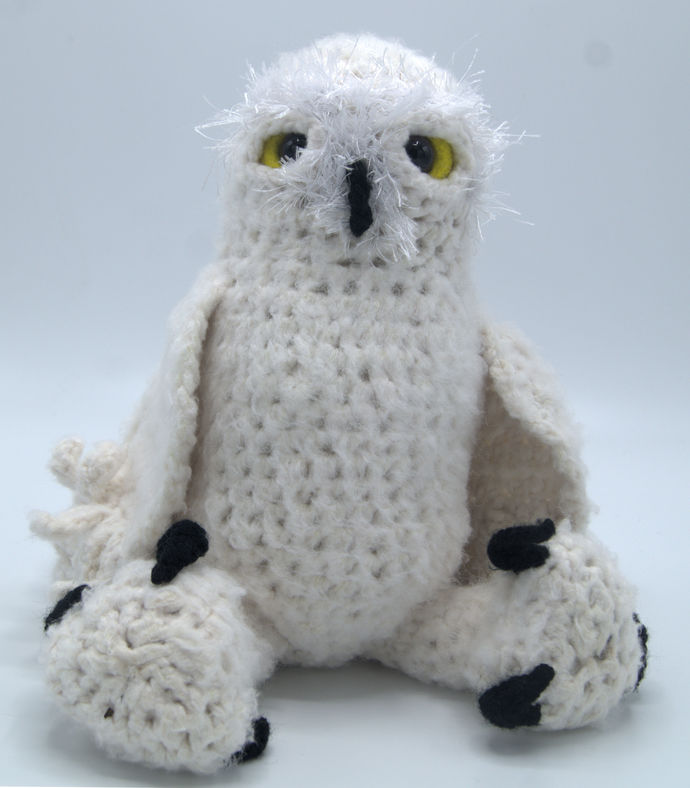 Snowy Owl Amigurumi/Crochet Stuff Animal