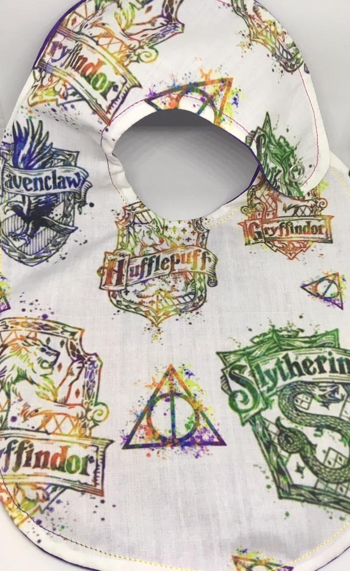 Limited Edition- Rainbow Harry Potter Bib