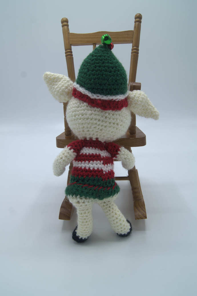 Elf on the shelf Amigurumi/Crochet Elf stuffed toy/Elf Doll