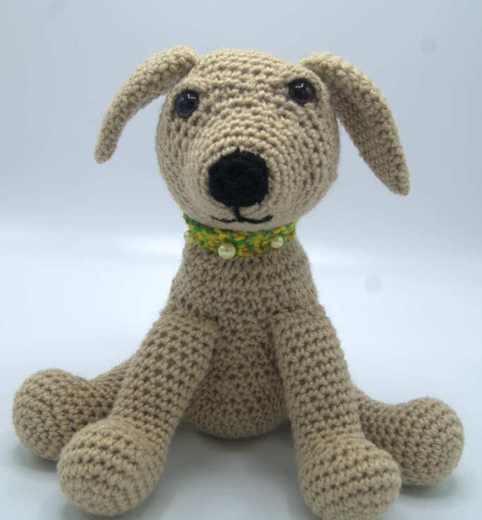 Golden Lab Puppy Amigurumi/Crochet Lab Puppy/Lab Puppy Toy