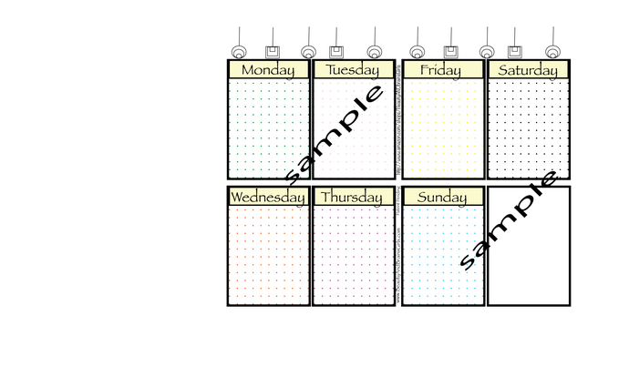 Bullet Journal Headers- Printable For My Bullet Journal Planning