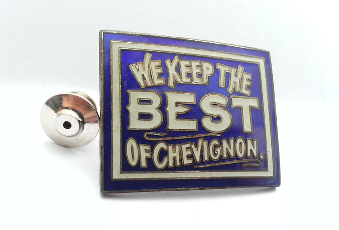 Vintage Fashion Brand CHEVIGNON Pin Badge - Demons & Merveilles