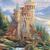 Mountian Guardian Castle Cross Stitch Pattern***LOOK*** ***INSTANT DOWNLOAD***