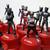 Coca Cola X Bandai Masked Kamen Rider Bottle Cap Stamp Figure Full Set Of 16 -