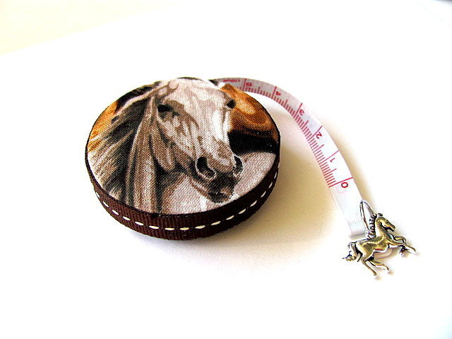 Tape Measure for Horse Lovers Retractable Measuring Tape