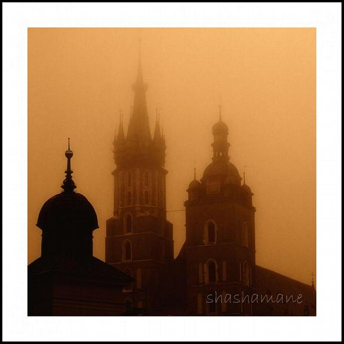 The dawn bugle in Cracow 5x5 photography print
