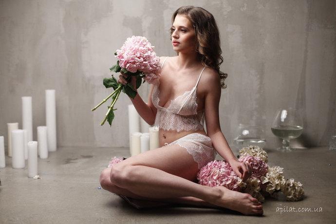 Lace Bra with Lace Brief F7(Lingerie Set), Bridal Lingerie, Wedding Lingerie,