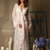 Lace-trimmed Tulle Bridal Robe F14(Lingerie, Nightdress), Bridal Lingerie,