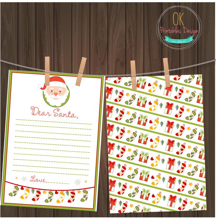 Santa Letter- Design 02