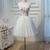 Floral Homecoming Dress,Sexy A-line Strapless Short Prom Dress,Tulle Party