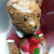 Haagen-Dazs Cell Phone Holder W/ Teddy Bear - New Unused - Häagen-Dazs