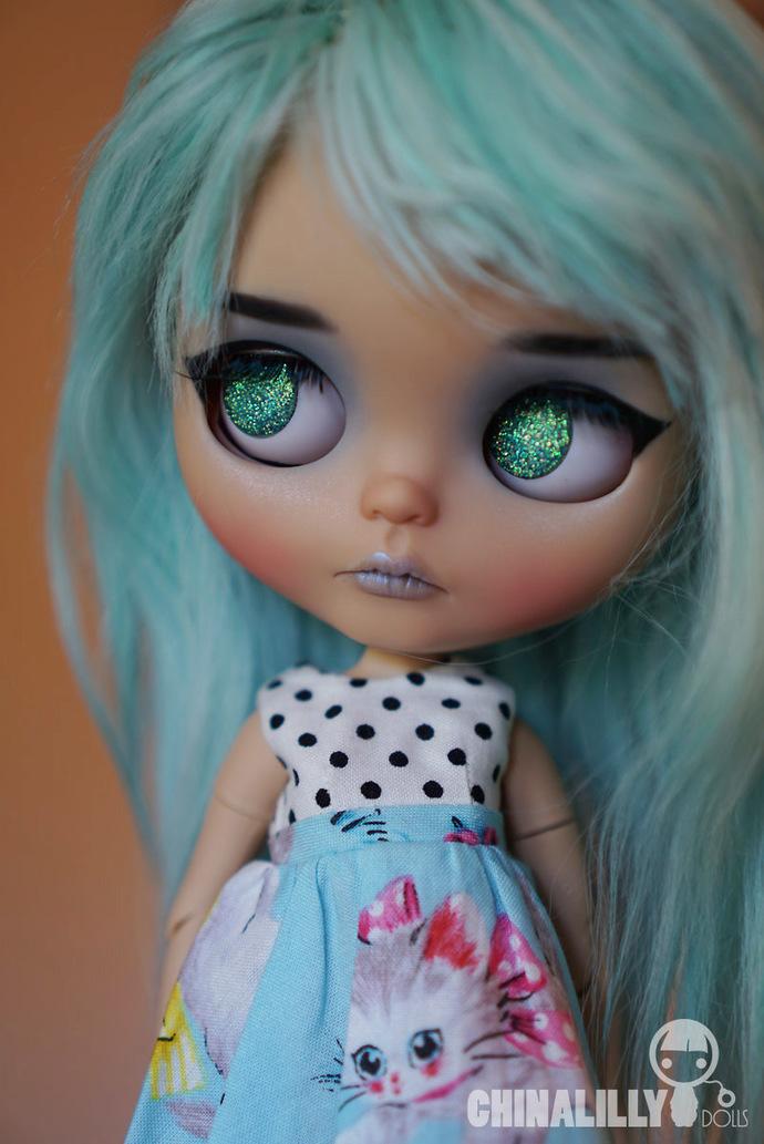 Custom Blythe doll - Ozone- by Chinalilly Dolls