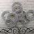 XL Crystal Buckle - Silver /Gold
