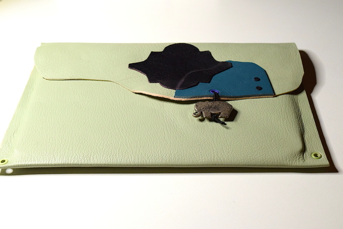Leather iPad Sleeve or Case