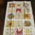 Vintage New Kay Dee With Tag- 100% Pure Linen Tea Towel - Country Charm-