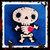 Sugar Skull Skeleton Felt Plush ~handsewn with love